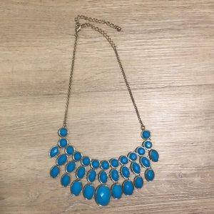 Jewelry - Blue Statement Necklace